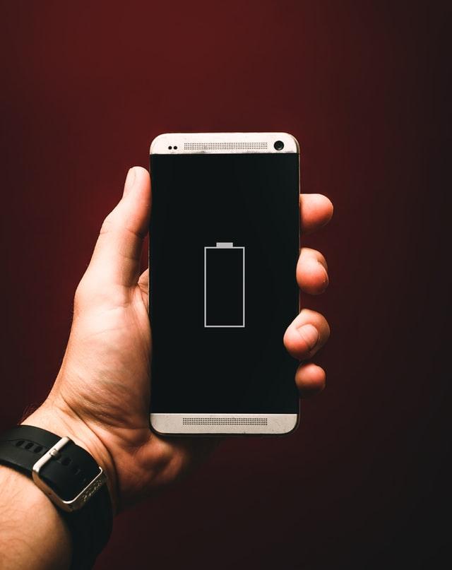 スマホのバッテリーイメージ画像
